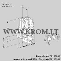 Air/gas ratio control VCG1T15N/15N05NGAQSR/2-PP/PPPP (88100246)
