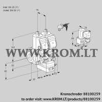 Air/gas ratio control VCG1E25R/25R05NGEWR/PPPP/PPBY (88100259)