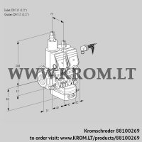 Pressure regulator VCD1E15R/15R05LD-50WR/PPPP/PPPP (88100269)