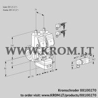 Air/gas ratio control VCG1E25R/25R05NGEWR6/-2PP/PPPP (88100270)