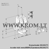 Pressure regulator VCD1E25R/25R05ND-50VWR6/2--3/PP3- (88100273)