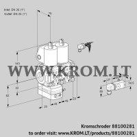 Air/gas ratio control VCG1E25R/25R05GENWL/PP2-/PPPP (88100281)