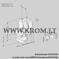 Air/gas ratio control VCG2E40R/40R05GENKR/2-PP/PPPP (88100286)