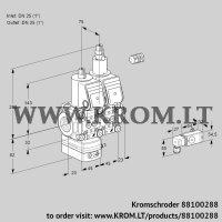 Pressure regulator VCD1E25R/25R05D-25LQR/2-PP/PPPP (88100288)
