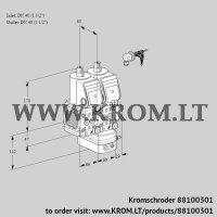 Air/gas ratio control VCG2E40R/40R05FNGEWR/PPPP/PPPP (88100301)