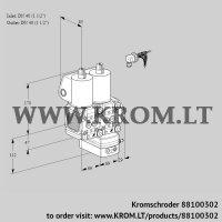 Air/gas ratio control VCG2E40R/40R05FNGEWL/PPPP/PPPP (88100302)