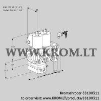 Pressure regulator VCD2E40R/40R05D-100NVWL/PPPP/PPPP (88100311)