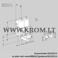 Pressure regulator VCD2E40R/40R05ND-25WL/PPPP/3-MM (88100314)