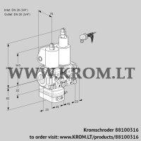 Pressure regulator VCD1E20R/20R05D-100LQL/PPPP/PPPP (88100316)