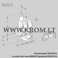 Pressure regulator VCD2E40R/40R05LD-25WR/3-MM/PPPP (88100326)