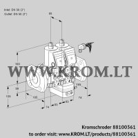 Air/gas ratio control VCG3E50F/50F05NGEWR/PPPP/PPPP (88100361)