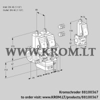 Air/gas ratio control VCG2E40R/40R05NGEVWR3/PPPP/PPZS (88100367)