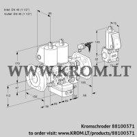 Air/gas ratio control VCG2E40F/40F05NGEVWL/PPZS/PPPP (88100371)