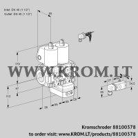 Air/gas ratio control VCG2E40R/40R05NGEWL/PPPP/2--3 (88100378)