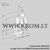 Pressure regulator VCD1E25R/25R05D-25LQR/PPPP/PPPP (88100380)