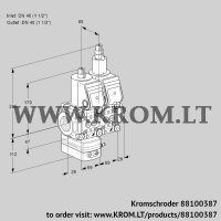 Pressure regulator VCD2E40R/40R05D-25LWR/PPPP/PPPP (88100387)