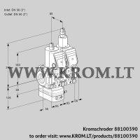 Pressure regulator VCD3E50R/50R05D-25LQR/PPPP/PPPP (88100390)