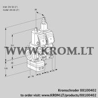 Pressure regulator VCD3E50R/50R05D-25LWSR/PPPP/PPPP (88100402)