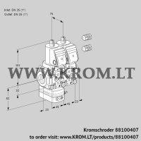 Pressure regulator VCD1E25R/25R05D-25NQSR3/PPPP/PPPP (88100407)