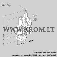 Pressure regulator VCD1E25R/25R05D-25LQSR3/PPPP/PPPP (88100408)