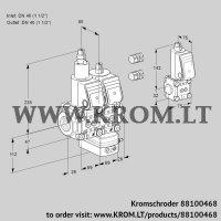 Pressure regulator VCD2E40R/40R05LD-25WR3/PPPP/BSPP (88100468)