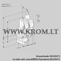 Pressure regulator VCD1E25R/25R05D-25LWSR3/PPPP/PPPP (88100472)