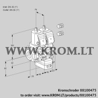 Air/gas ratio control VCV1E25R/25R05NVKWSR3/PPPP/PPPP (88100475)