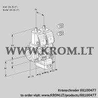 Air/gas ratio control VCV1E25R/25R05NVKQSR3/PPPP/PPPP (88100477)