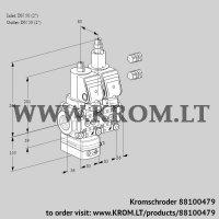 Pressure regulator VCD3E50R/50R05D-25LWSR3/PPPP/PPPP (88100479)
