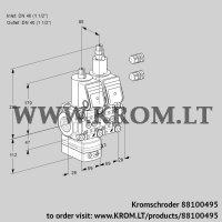 Pressure regulator VCD2E40R/40R05D-25LWR3/PPPP/PPPP (88100495)