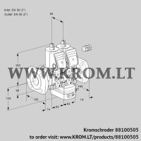 Air/gas ratio control VCG3E50F/50F05NGEWR/PPPP/PPPP (88100505)