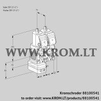 Pressure regulator VCD1T25N/25N05FD-100NQGR/PPPP/PPPP (88100541)