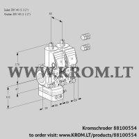 Air/gas ratio control VCG2E40R/40R05GENWR3/PPPP/PPPP (88100554)