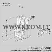 Pressure regulator VCD1E15R/15R05D-100NWR/PPPP/2-PP (88100567)