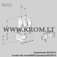 Pressure regulator VCD1T15N/15N05FD-50NQSR/3-PP/PPPP (88100576)