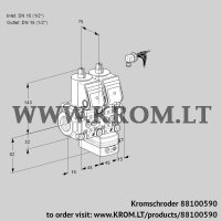 Pressure regulator VCD1E15R/15R05ND-25WR/PPPP/PPPP (88100590)