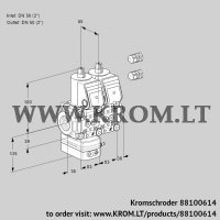 Air/gas ratio control VCG3E50R/50R05GENQR3/PPPP/PPPP (88100614)