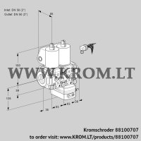 Air/gas ratio control VCG3E50R/50R05NGEWL/PPPP/PPPP (88100707)