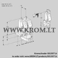 Pressure regulator VCD1E15R/15R05ND-25WR/PPPP/PPZS (88100716)