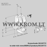 Air/gas ratio control VCG2E50R/40R05NGKWR/PPPP/2-PP (88100733)