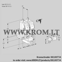 Air/gas ratio control VCG3E50R/50R05NGKKR/PPPP/2-PP (88100734)
