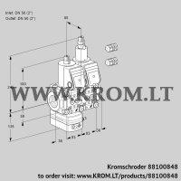 Air/gas ratio control VCG3E50R/50R05GELQR3/PPPP/PPPP (88100848)