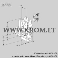 Air/gas ratio control VCG3E50R/50R05NGEWR6/PPPP/PPPP (88100872)