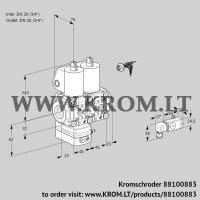 Pressure regulator VCD1E20R/20R05D-50NWL/PPPP/2-PP (88100883)
