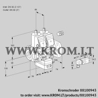 Air/gas ratio control VCG3E65R/50F05NGEWR/-2PP/2--3 (88100943)