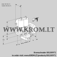Air/gas ratio control VCG3E50R/50F05NGEWL/PPPP/PPPP (88100972)