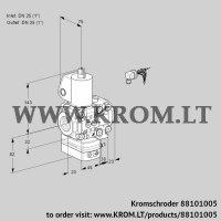 Pressure regulator VAD1E25R/25R05D-100VWL/PP/PP (88101005)