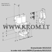 Air/gas ratio control VCG2E50R/50R05NGEVWSL7/PPBS/PPPP (88101010)