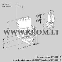 Air/gas ratio control VCG2E50R/50R05NGEVWSL7/PPBS/PPPP (88101012)