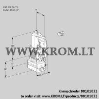 Pressure regulator VAD1E25R/25R05FD-25WR/PP/PP (88101032)